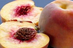 soczyste mięsiste peaches dojrzałe Fotografia Royalty Free