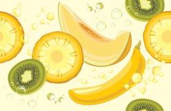 soczyste owoców Bezszwowy tło dla projekta Zdjęcia Royalty Free