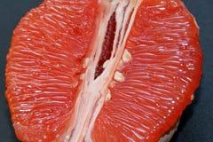 Soczysty i smakowity grapefruitowy obrazy royalty free