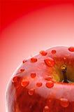 Soczysty jabłko fotografia stock