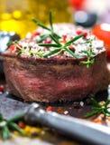 Soczysty polędwicowy stek Zdjęcie Stock