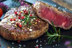 Soczysty polędwicowy stek Zdjęcie Royalty Free