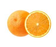 soczysty pomarańczowy dojrzały Piękny cytrus, południowa owoc ustawiać nastrój Zdjęcia Royalty Free