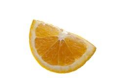 soczysty pomarańczowy klin Obrazy Stock