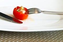 soczysty pomidor Zdjęcia Royalty Free
