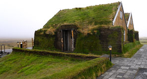 Sod House. A typical icelandic sod house Stock Photography