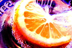 Soda. Orange soda Stock Images