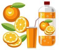 Soda anaranjada Fotografía de archivo