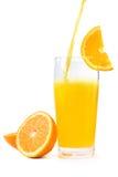 Soda arancione Fotografia Stock