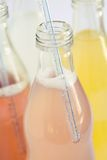 Soda assorted flavors and colors Royalty Free Stock Image