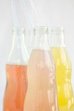 Soda assorted flavors and colors royalty free stock photo