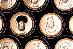 Soda/beer cans Stock Photography