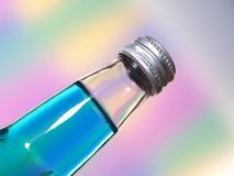 Soda Bottle Closeup Abstract Stock Images