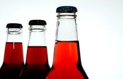 Soda bottles stock photography