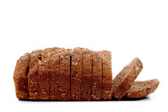 soda bread sliced on white background Royalty Free Stock Images