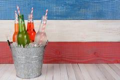 Soda Bucket Horizontal Royalty Free Stock Photo