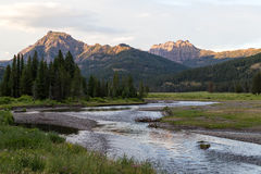 Soda Butte Creek Stock Photography