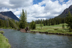 Soda Butte Creek Stock Photo