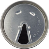 Soda can lid - 1980s retro Stock Images