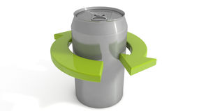 Soda can recycle Stock Images