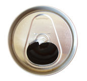 Soda can with tab off Stock Photos