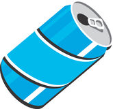 Soda Can Vector Clipart Design Illustration Stock Image