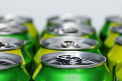 Soda cans Stock Photo