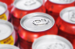 Free Soda Cans Royalty Free Stock Image - 29235946