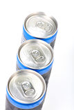Soda cans Royalty Free Stock Photo