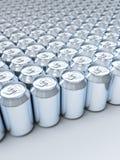 Soda cans Royalty Free Stock Photos