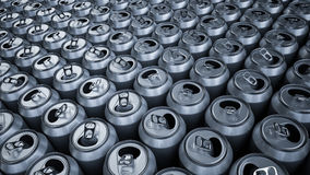 Soda cans Royalty Free Stock Photos