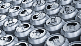 Soda cans Stock Photography