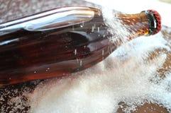 Soda, Coca-cola bottle. Bottle of coca-cola with sugar, soda with sugar Stock Image