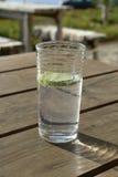 Soda con calce fotografie stock