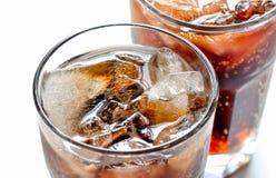 Soda con ghiaccio Fotografia Stock
