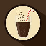 Soda concept design Royalty Free Stock Images