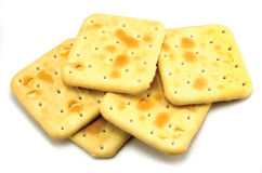 Soda Cracker Stack Royalty Free Stock Photos