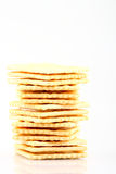 Soda crackers Royalty Free Stock Photography