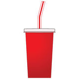 Soda cup Royalty Free Stock Photos