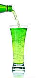 Soda de derramamento fotografia de stock royalty free