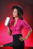 Soda de prata Fotos de Stock Royalty Free