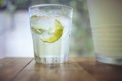 Soda del limone Fotografie Stock
