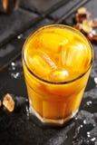 Soda dell'olivello spinoso Fotografia Stock Libera da Diritti
