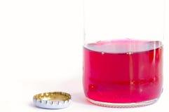 Soda dentellare fotografie stock