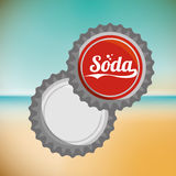 Soda design Royalty Free Stock Images