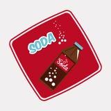 Soda design Stock Photography