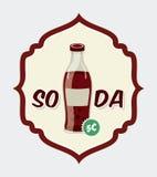 Soda design Royalty Free Stock Image