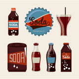 Soda design Stock Images