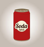 Soda design Royalty Free Stock Photo