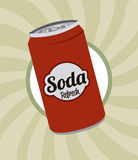 Soda design Stock Photos